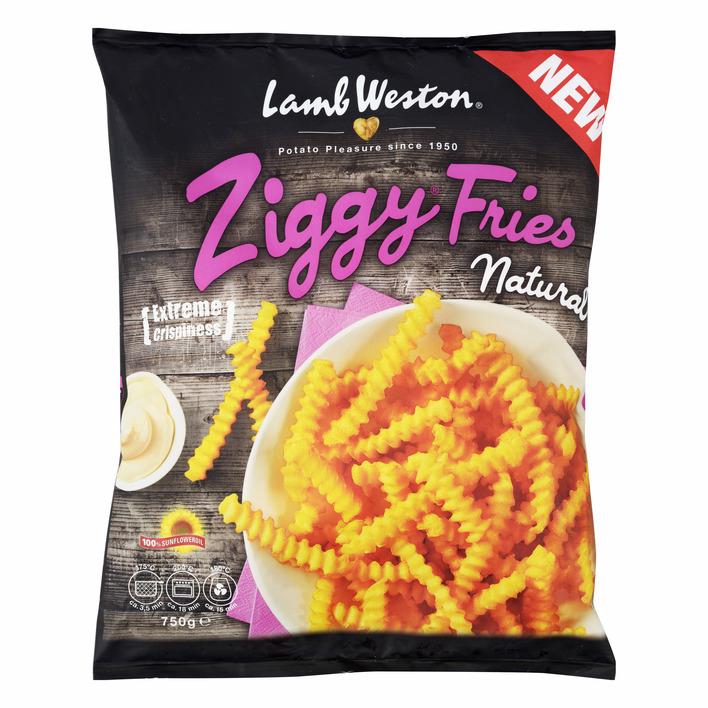 LambWeston Ziggy fries natural