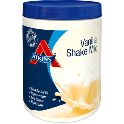 Atkins Vanilla shake mix