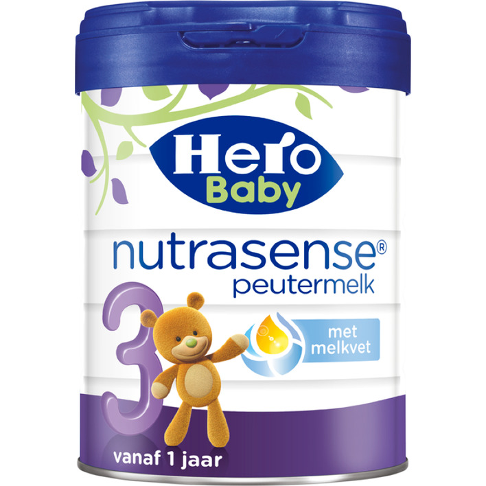 Hero Baby Nutrasense peutermelk 3 (1+jr)