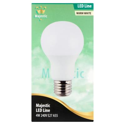Majestic LED Line Warm White 4W E27