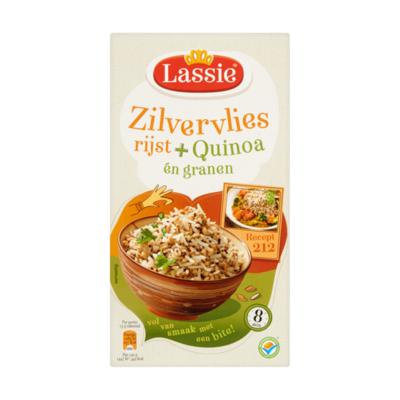 Lassie Zilvervliesrijst + Quinoa én Granen