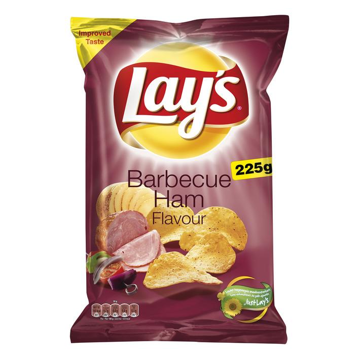 Lay's Bbq ham