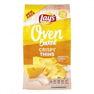 Lay's Oven crispy thins emmentaler kaas