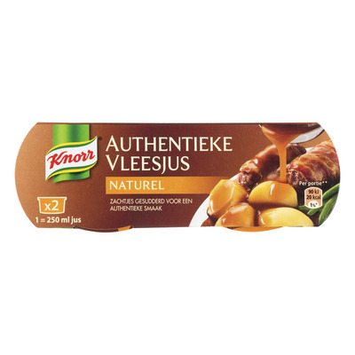Knorr Mix authentieke vleesjus naturel