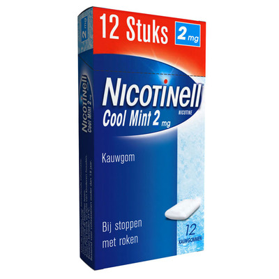 Nicotinell Coolmint kauwgum