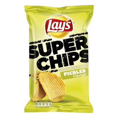 Lay's Superchips pickles