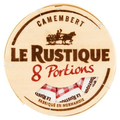 Le Rustique Camembert portions