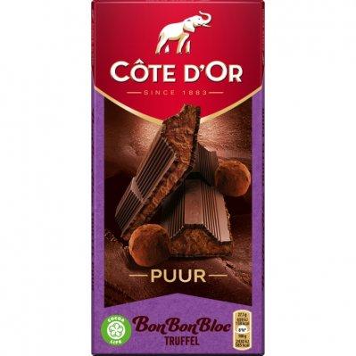 Côte d'Or Bonbonbloc truffel puur