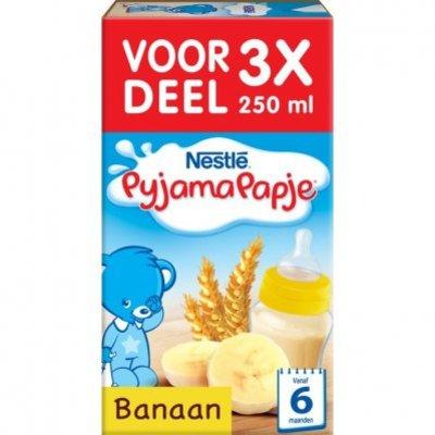 Nestlé Pyjamapapje banaan 6+ mnd baby pap