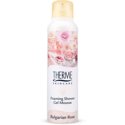 Therme Bulgarian rose foaming shower gelmousse