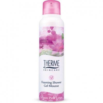 Therme Foaming shower mousse Saigon pink lotus