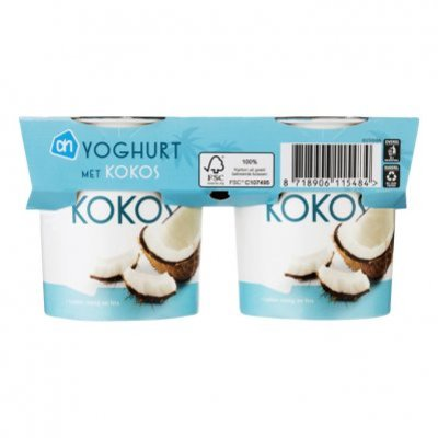 Huismerk Frisse kokosyoghurt