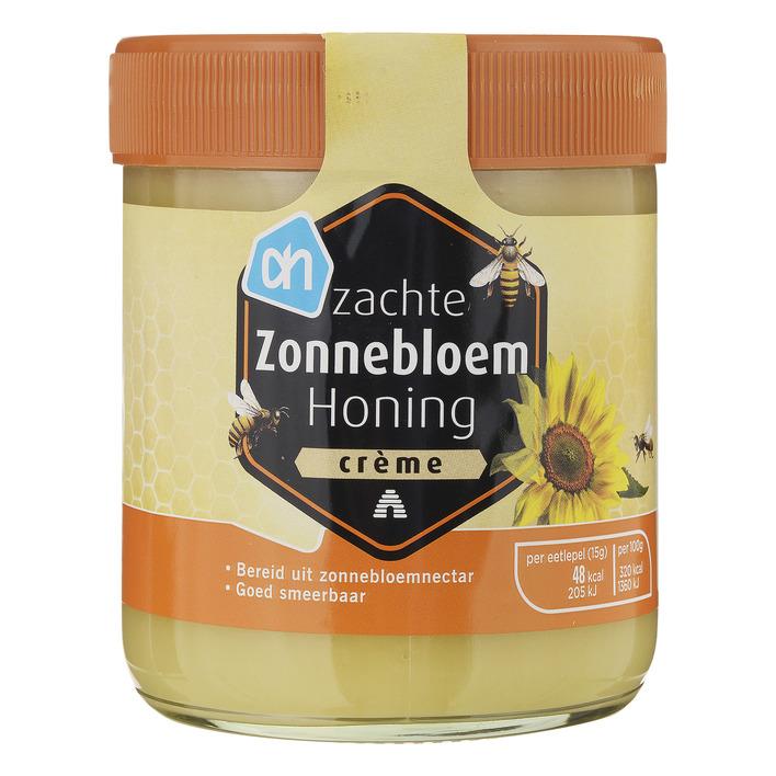 Huismerk Zachte zonnebloem honing crème