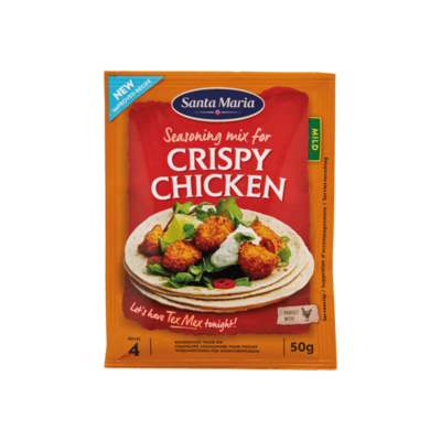 Santa Maria Seasoning Mix for Crispy Chicken Mild