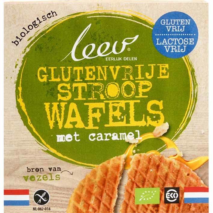 Leev Stroopwafels glutenvrij