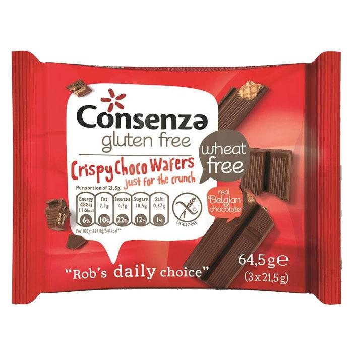 Consenza Crispy choco wafers