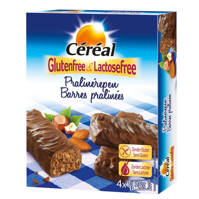 Cereal Pralinereep glutenvrij