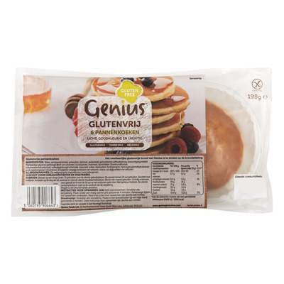 Genius Pancakes glutenvrij