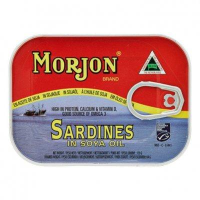 Morjon Sardines in sojaolie