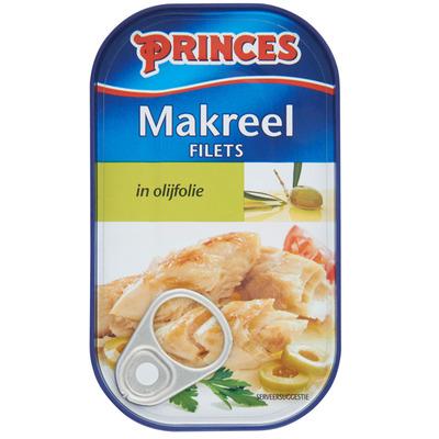 Princes Makreelfilets in olijfolie