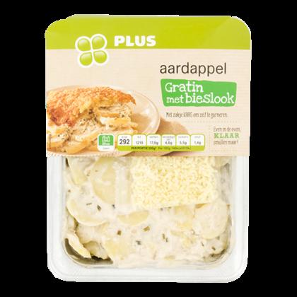 Huismerk Aardappelgratin bieslook met kaas
