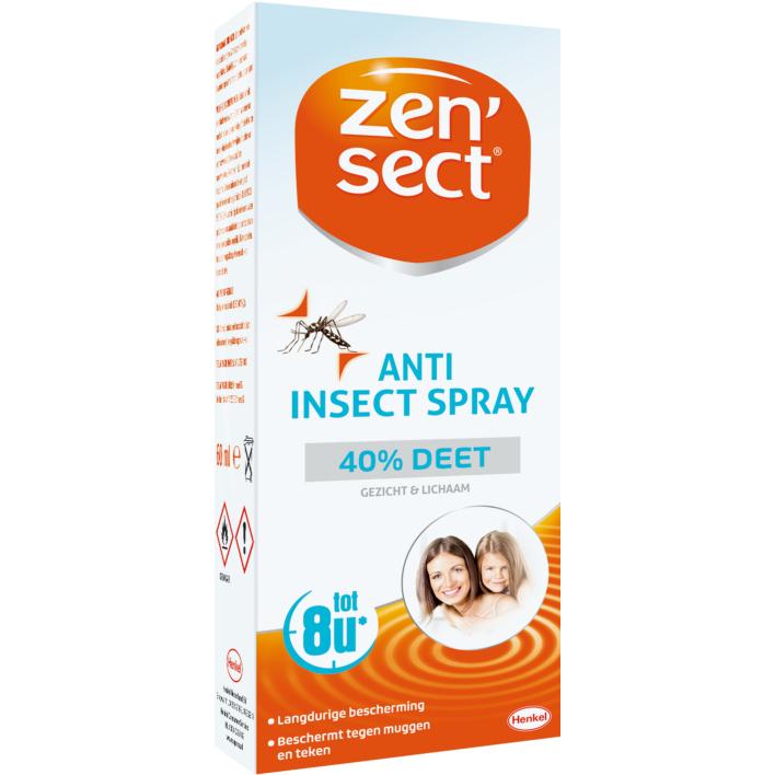 Zensect Anti insecten spray 40% deet