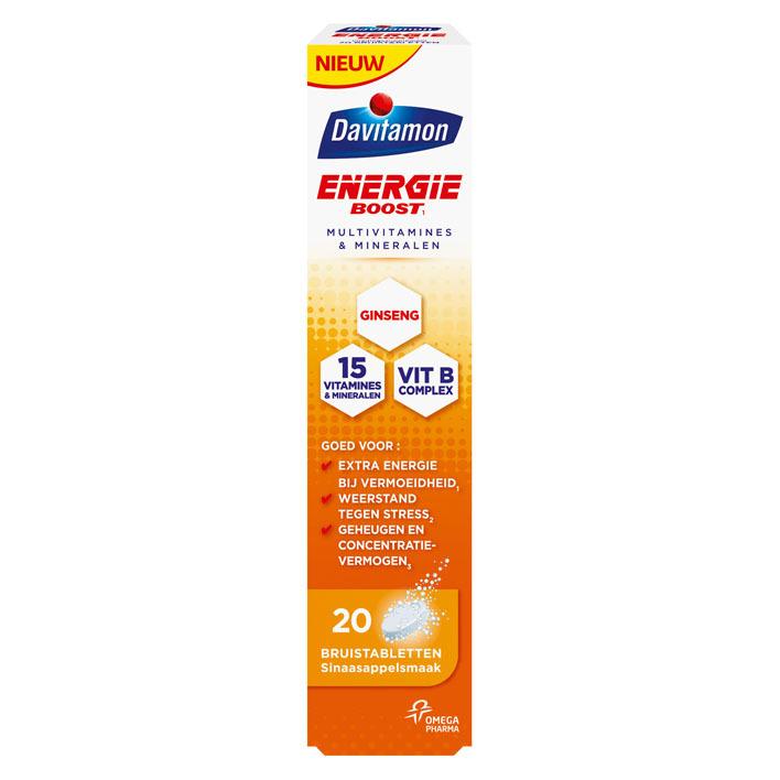 Davitamon Energie boost ginseng bruistabletten