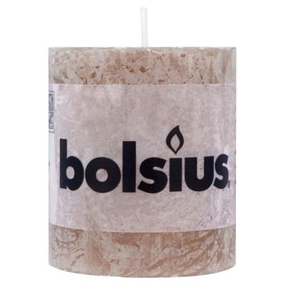 Bolsius Stomp 80/68 rustiek taupe