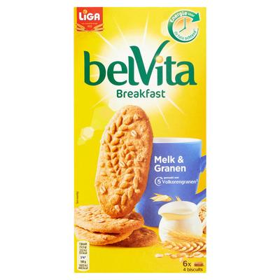Liga Belvita biscuits melk en granen