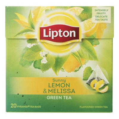 Lipton Green tea lemon-melissa