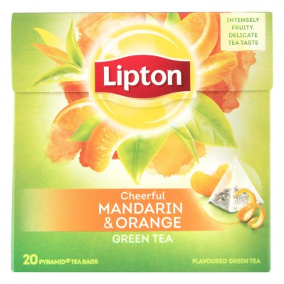 Lipton Mandarin orange groene thee