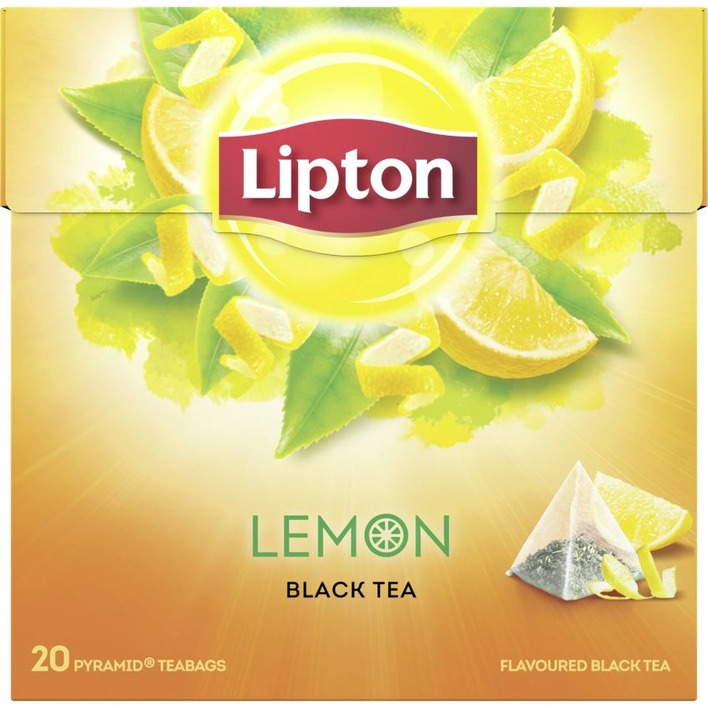 Lipton Zwarte thee lemon