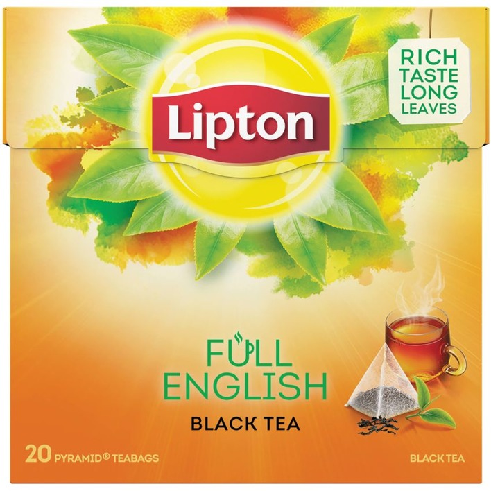 Lipton Zwarte thee full english