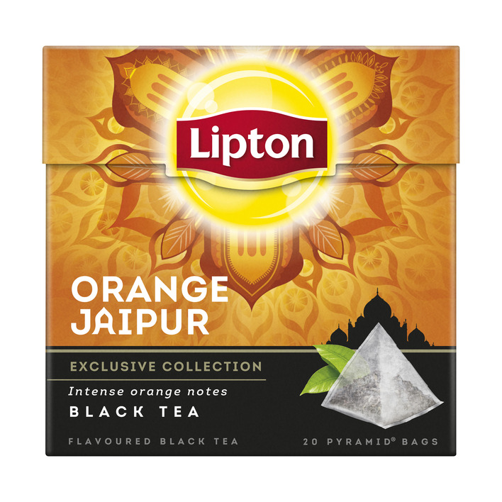 Lipton Zwarte thee orange jaipur