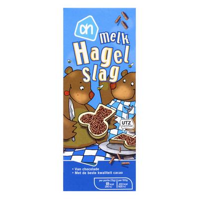 Huismerk Chocolade hagel melk
