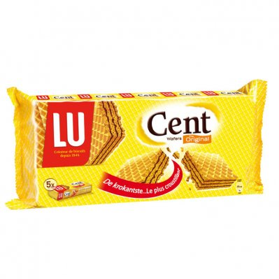 LU Cent wafels