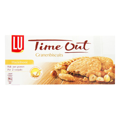 Time Out Granenbiscuits hazelnoot