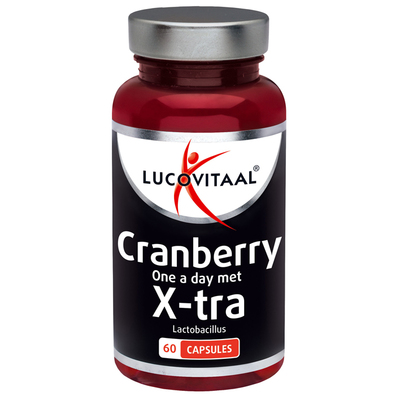 Lucovitaal Cranberry met x-tra lactobacillus