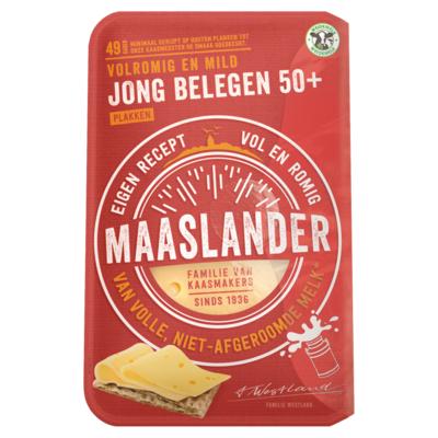 Maaslander 50+ Jong belegen plakken