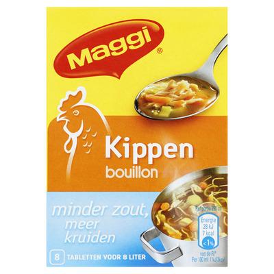 Maggi Bouillon minder zout kip