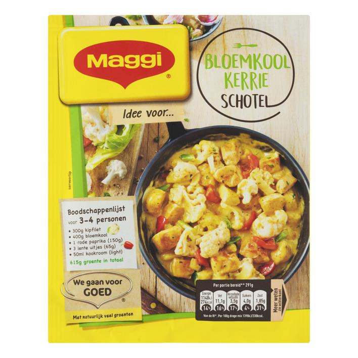 Maggi Dagschotel bloemkool-milde kerrie