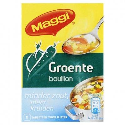 Maggi Groentebouillon minder zout