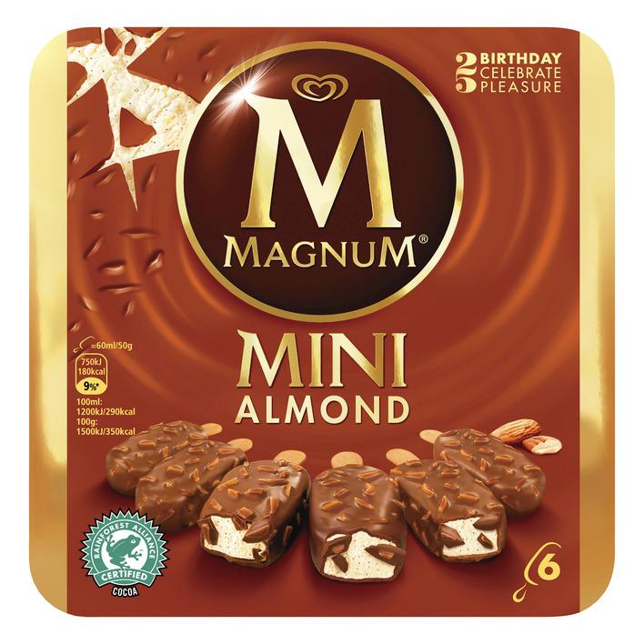 Magnum Mini ijs almond