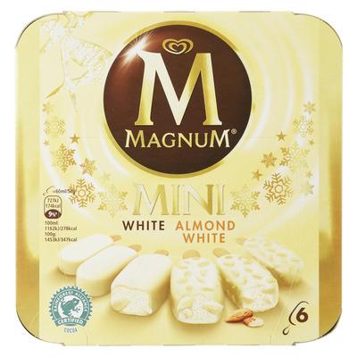 Magnum IJs mini white & white almond