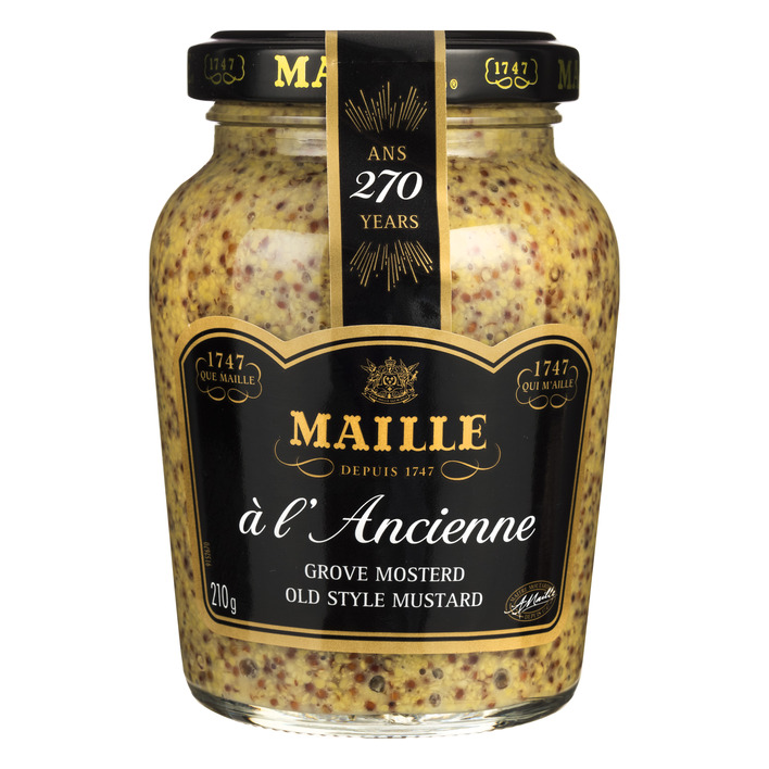 Maille Dijonmosterd ancienne grof