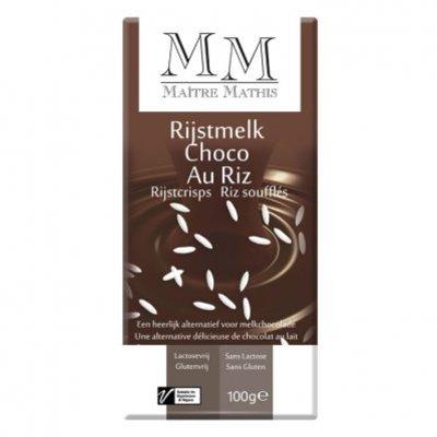 Maitre Mathis Rijstmelk choc. lactosevrij & rijstcr.