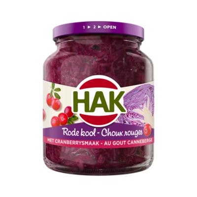 Hak Rode Kool met Cranberry Smaak
