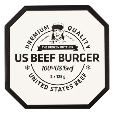 The Frozen Butcher US beefburger