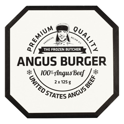 The Frozen Butcher Angus beefburger