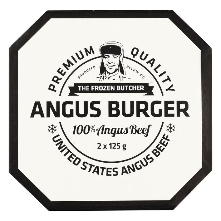 The Frozen Butcher Angus beefburger